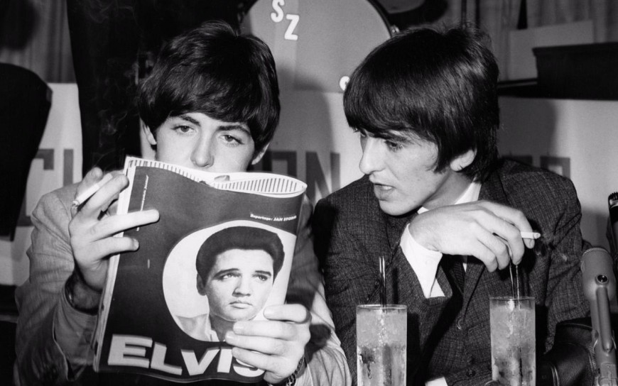 The Beatles, Elvis