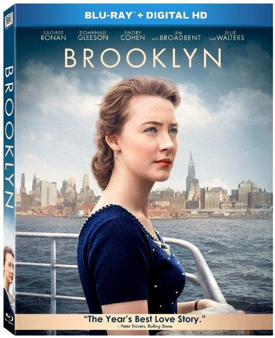 Brooklyn, Saoirse Ronan, DVD Bluray