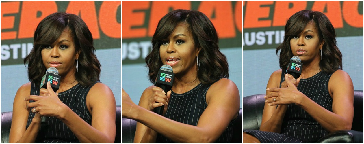 Michelle Obama, SXSW, Let Girls Learn