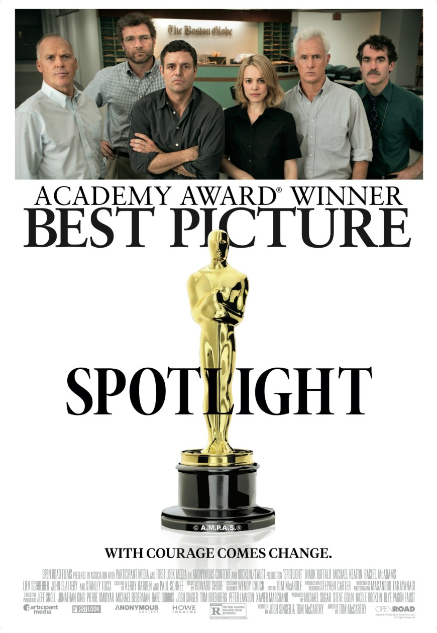 Spotlight Oscar Poster