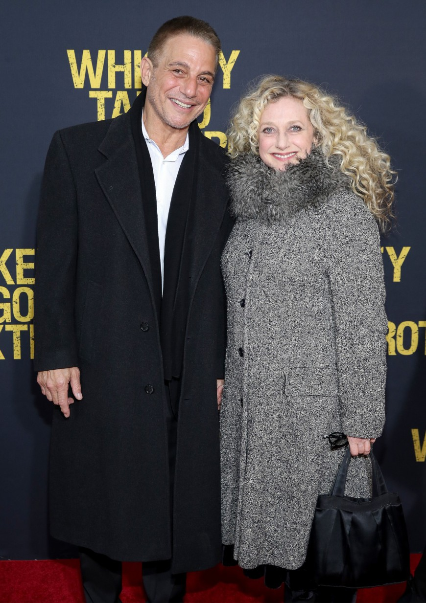 Tony Danza, Carol Kane at the Whiskey Tango Foxtrot Red Carpet Premiere