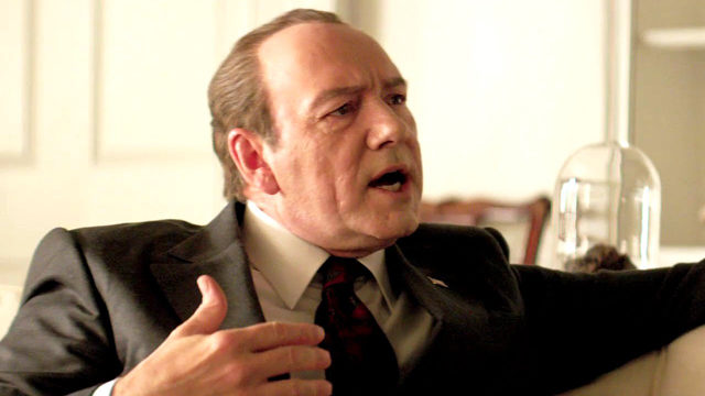 "Kevin Spacey as Nixon in ""Elvis & Nixon"""