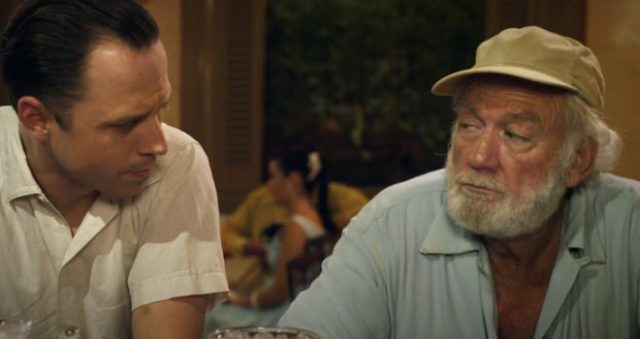 "Giovanni Ribisi and Adrian Sparks in ""Papa: Hemingway in Cuba"""