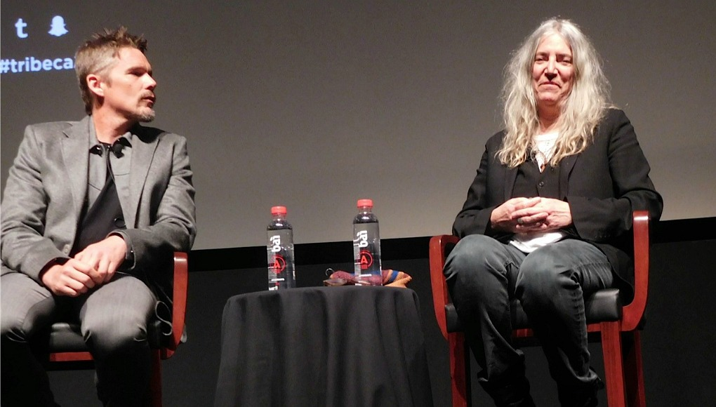 rock legend patti smith on poetry work ethic and sam shepard