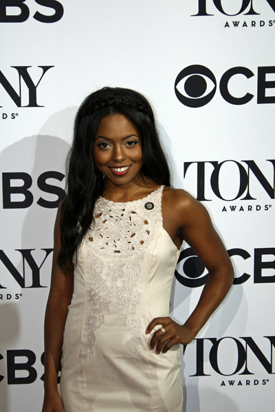 "Adrienne Warren is nominated for her featured role in the musical ""Shuffle Along"" 