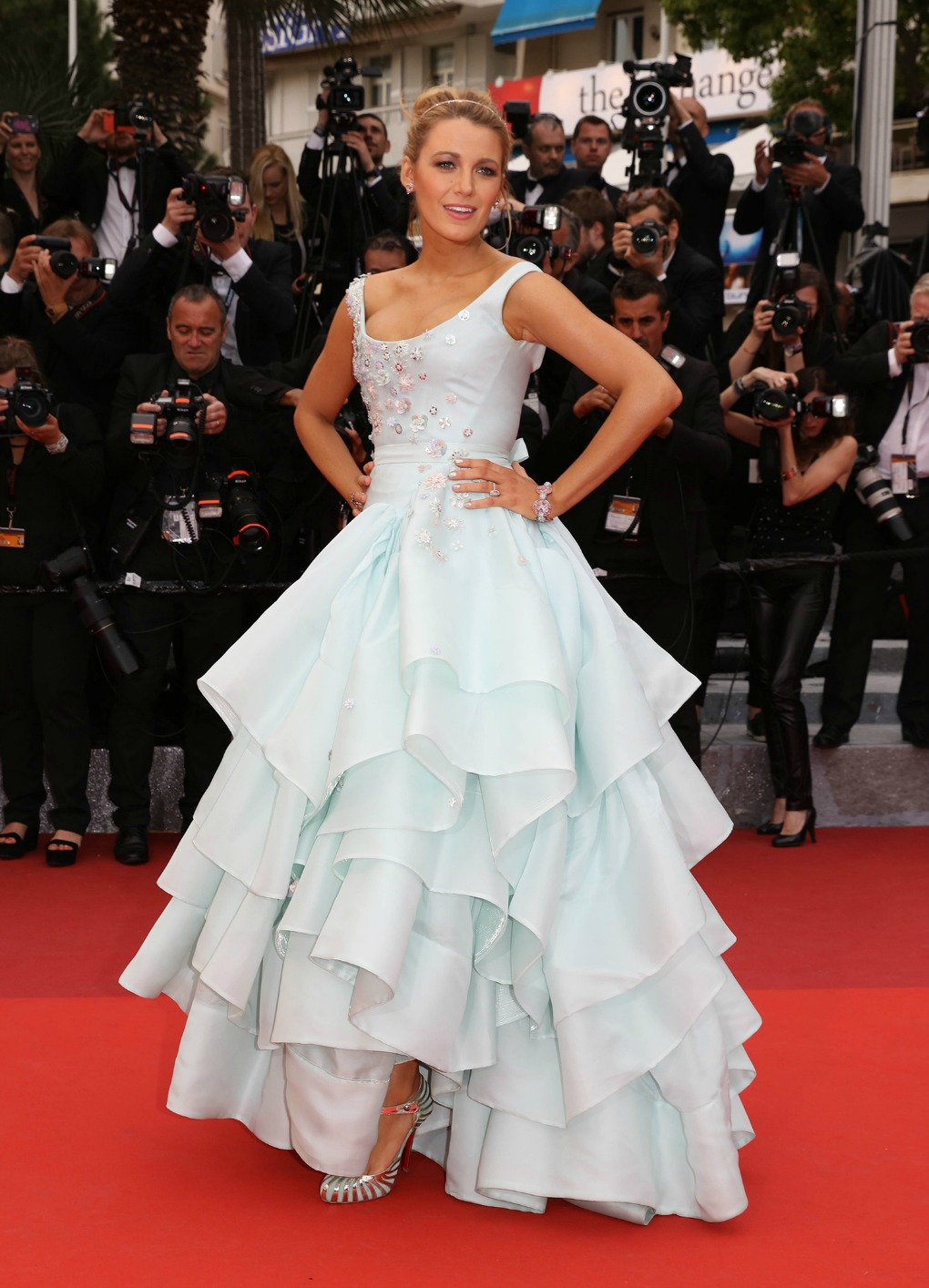 Blake Lively Shines On Cannes Red Carpet