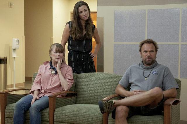"Sissy Spacek, Linda Cardellini, and Norbert Leo Butz in season 1 of the original Netflix series, ""Bloodline"" | Netflix Photo"