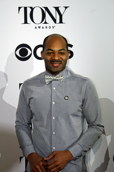 "Brandon Victor Dixon is nominated for his featured role in the musical ""Shuffle Along"" 