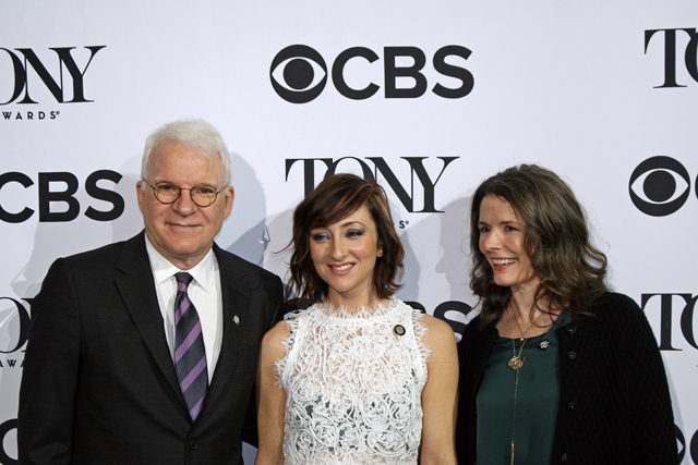 "Steve Martin, Carmen Cusack, and Edie Brickell are all nominated for the new musical ""Bright Star"" 