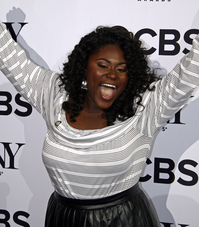 """Danielle Brooks celebrates her Tony nomination for her featured role in the musical """"The Color Purple."""" You might also remember Danielle from """"Orange is the New Black""""   Melanie Votaw Photo"""