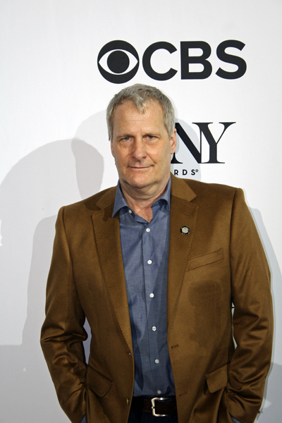 "Jeff Daniels is nominated for his leading role in the play ""Blackbird"" 