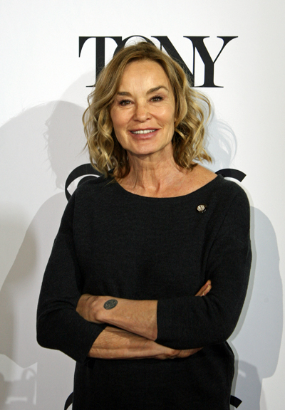 "Jessica Lange is nominated for her leading role in the play ""Long Day's Journey into Night"" 