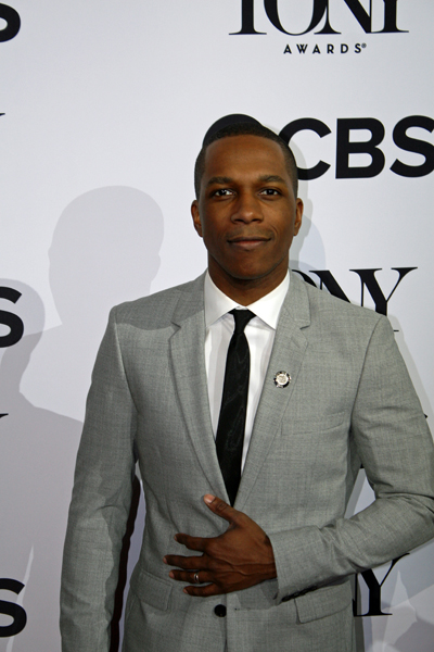"Leslie Odom, Jr. is nominated for his leading role in ""Hamilton"" and is favored to win 
