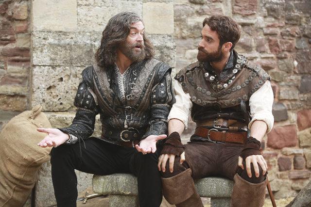 "Timothy Omundson and Joshua Sasse in ""Galavant"" | ABC-TV Photo"
