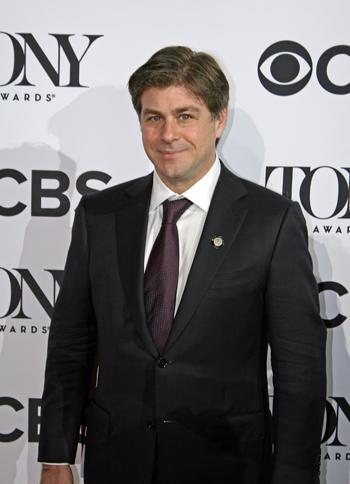 Glenn Slater at the 2016 Tony nominee press junket   Melanie Votaw Photo