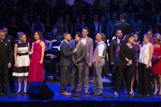 "The cast of ""From Broadway with Love"" performs in Orlando 