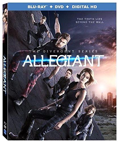 THE DIVERGENT SERIES: ALLEGIANT - New on DVD, Blu-ray, Digital HD