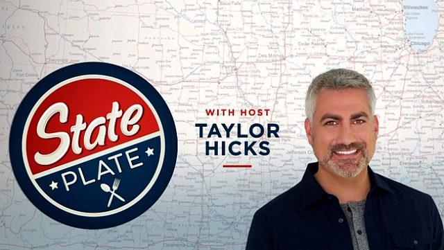 taylor hicks, state plate, american idol