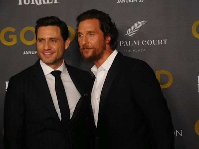 gold, matthew mcconaughey, edgar ramirez, bryce dallas howard