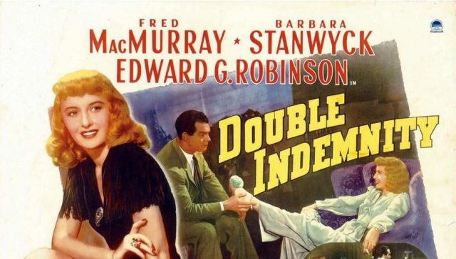 Double Indemnity, cheating partners, movies about cheating partners